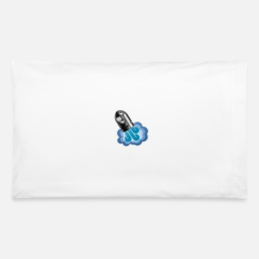 Graphic Art Rocket Cannon Graphic Art - Pillowcase