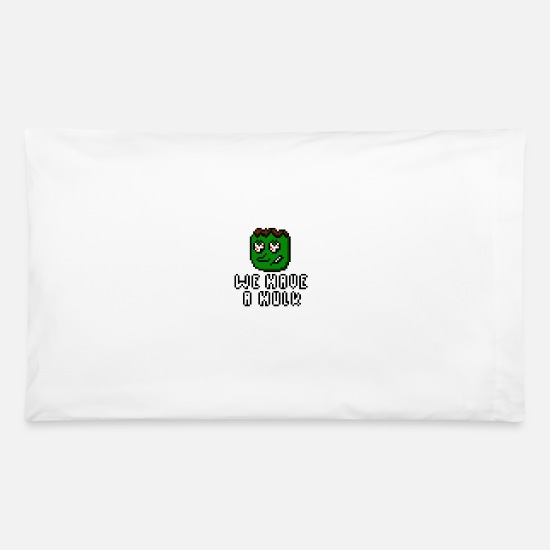 Hulk Pillow Cases - We Have A Hulk - Pillowcase 32'' x 20'' white
