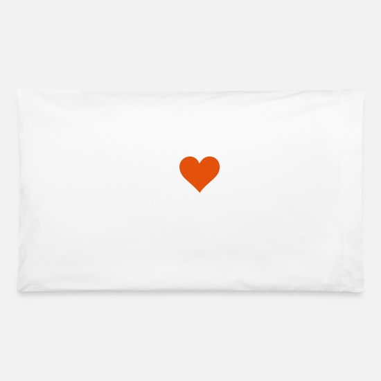 Love Pillow Cases - I Love Vienna - Pillowcase 32'' x 20'' white
