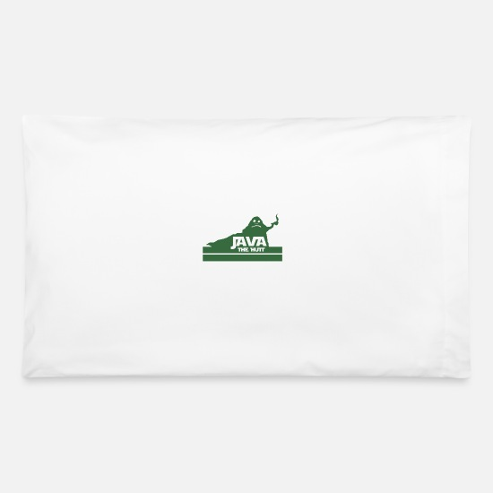 Java Pillow Cases - Java The Hutt Coffee - Pillowcase 32'' x 20'' white