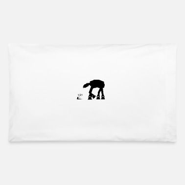 R2d2 R2D2 vs AT-AT - Pillowcase 32'' x 20''