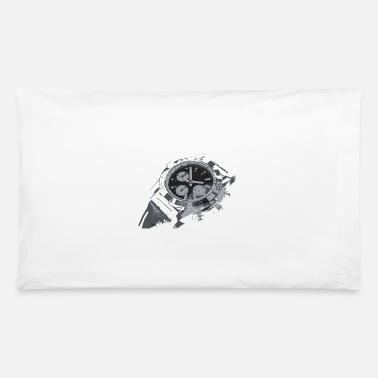 Vector Creative drawing watch - Pillowcase