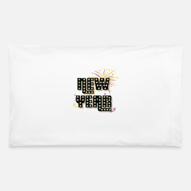 New Year New Years Eve New Year - Pillowcase 32'' x 20''