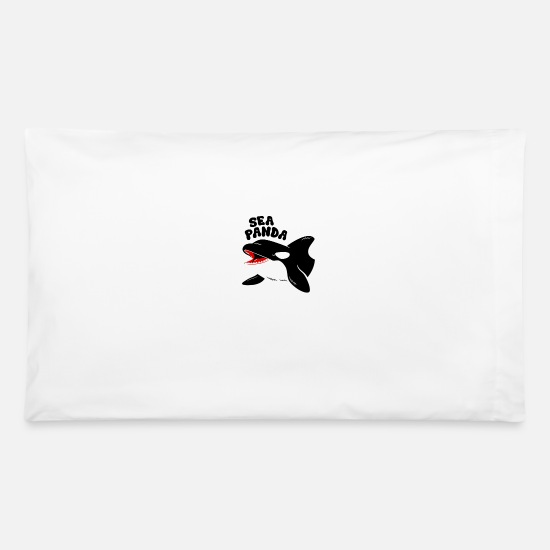 Seafood Pillow Cases - Sea Panda - Pillowcase 32'' x 20'' white