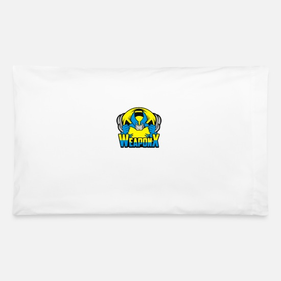 Game Pillow Cases - Mutant Weapon - Pillowcase 32'' x 20'' white