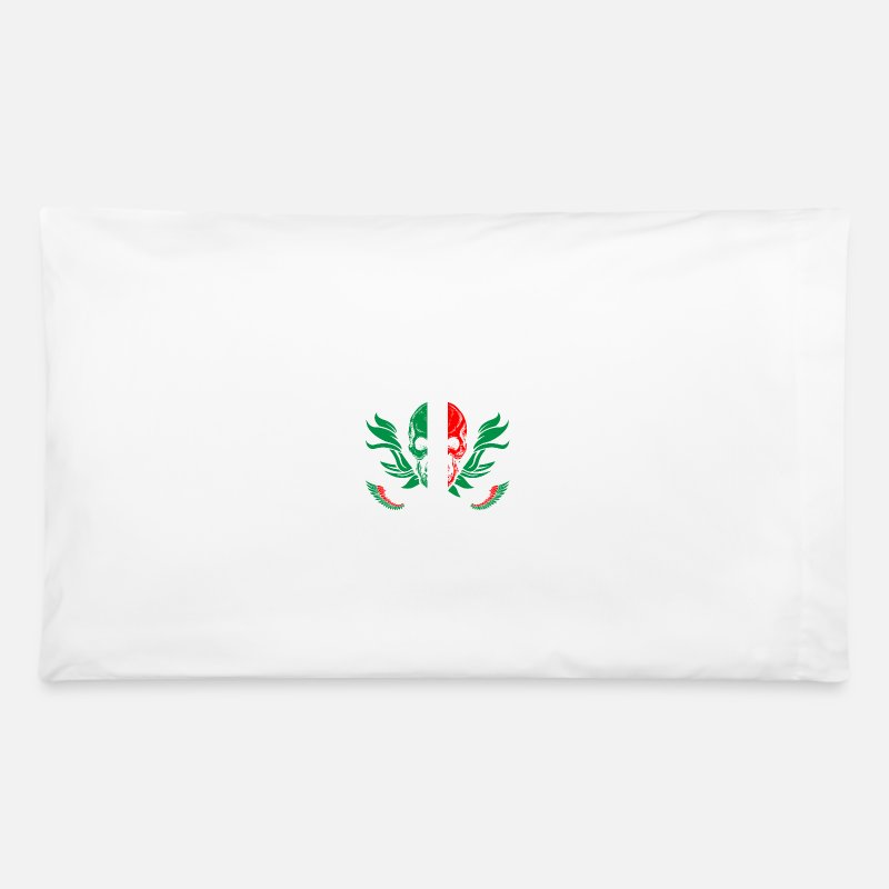 Italian Pillow Cases - Italian To The Bone - Pillowcase 32'' x 20'' white