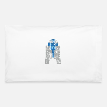 R2d2 R2D2 Typography - Pillowcase 32'' x 20''