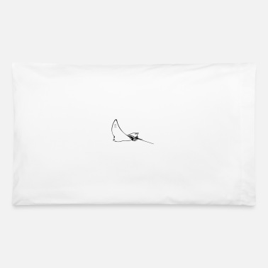 Eagle Eagle Ray in flight - Pillowcase 32'' x 20''