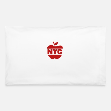 Big Apple NYC Big Apple - Pillowcase 32'' x 20''