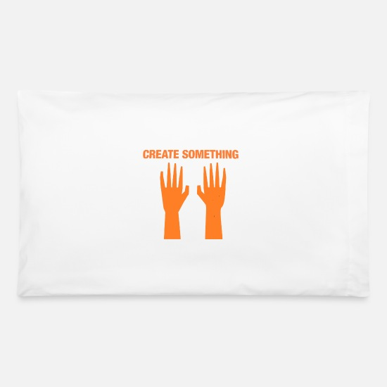 #backpack #schoolbag #book Bag Pillow Cases - Create Something - Pillowcase 32'' x 20'' white