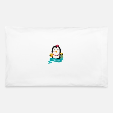 Vacation Tennessee Penguin Hawaii from TENNESSEE - Pillowcase 32'' x 20''