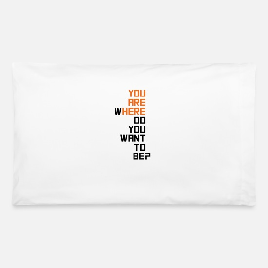 Motivation Pillow Cases - motivational - Pillowcase 32'' x 20'' white