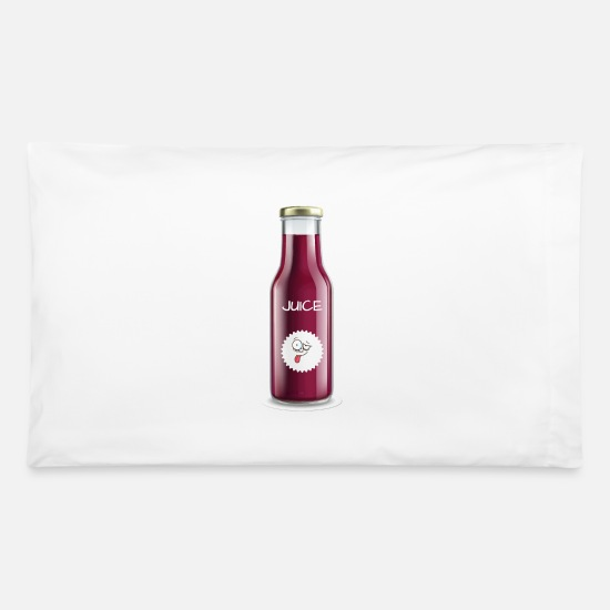Birthday Pillow Cases - Happy Juice - Pillowcase 32'' x 20'' white