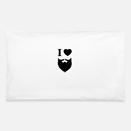 Rocker Pillow Cases - i love - Pillowcase 32'' x 20'' white