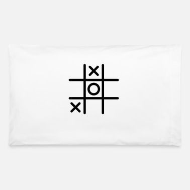 Tic Tac Toe Tic Tac Toe - Pillowcase 32'' x 20''