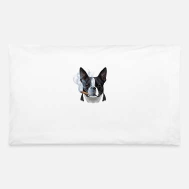 American Gentlemen BOSTON TERRIER - Pillowcase 32'' x 20''