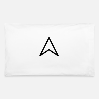 Star Trek Arrow Head point or Star Trek style Federation - Pillowcase 32'' x 20''