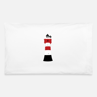 Lighthouse Roter Sand - Pillowcase 32'' x 20''