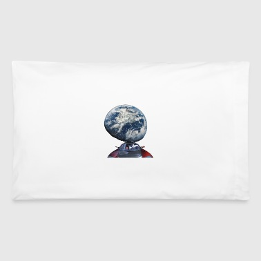 Dont Panic - Red Roadster Escapes from Earth - Pillowcase