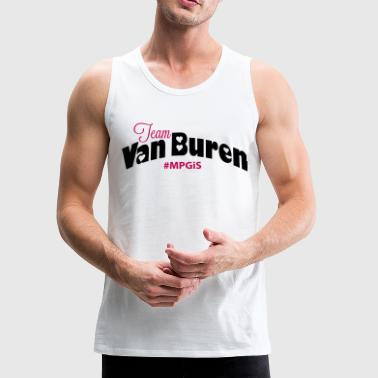 Most Popular Girls Team Van Buren  Women's T-Shirts - Men's Premium Tank