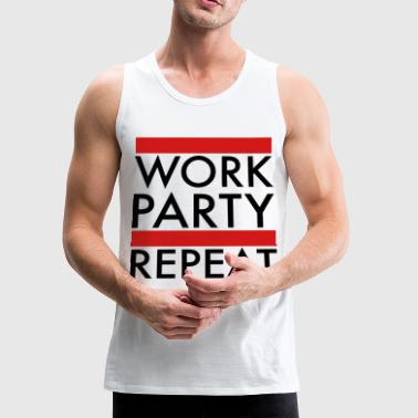 work_party_repeat - Men's Premium Tank