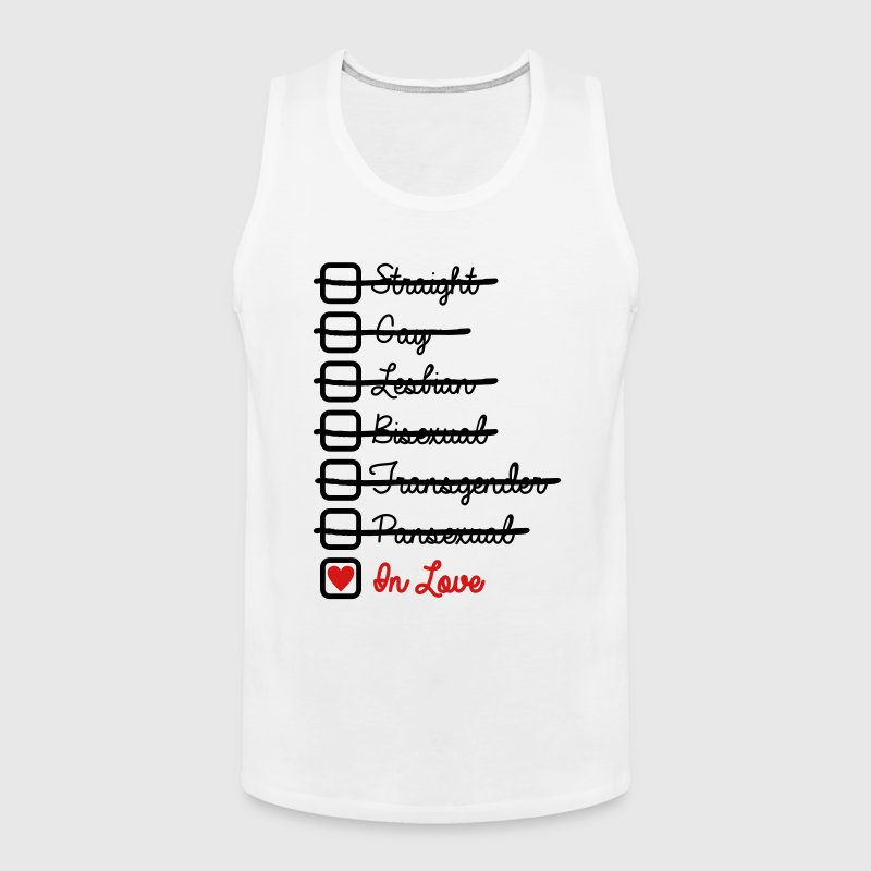 Love Has No Labels In Love LGBT - Men's Premium Tank
