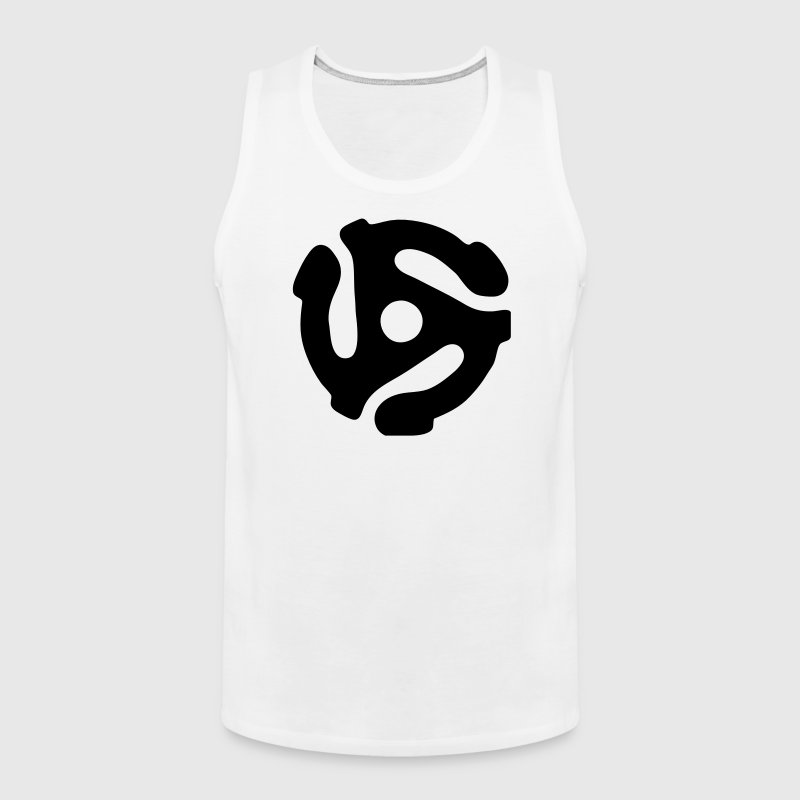 45 rpm vinyl adapter - Men's Premium Tank