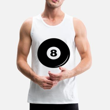 8-ball Billiard ball 8 - Men's Premium Tank