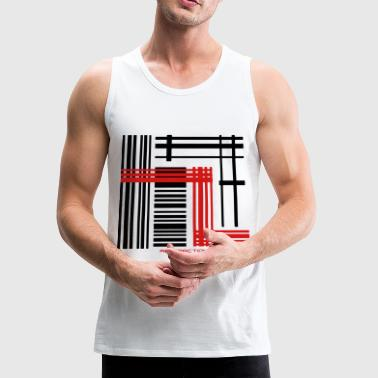 Abstract Abstraction - Men's Premium Tank