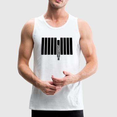 Be Different Be Different... - Men's Premium Tank