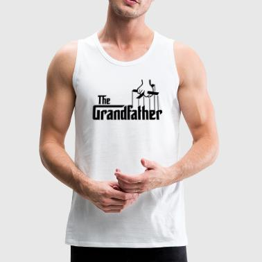 The Grandfather Father s Day - Men's Premium Tank