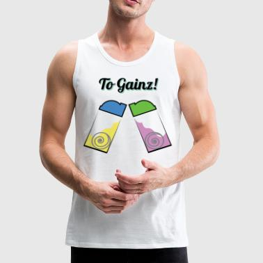 To Gainz! - Men's Premium Tank