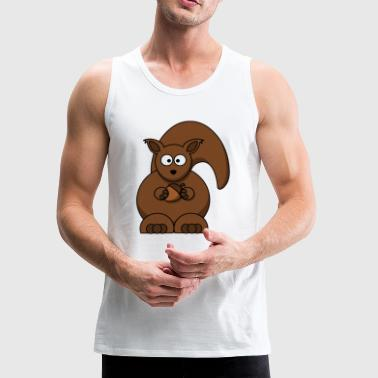 squirrel - Men's Premium Tank