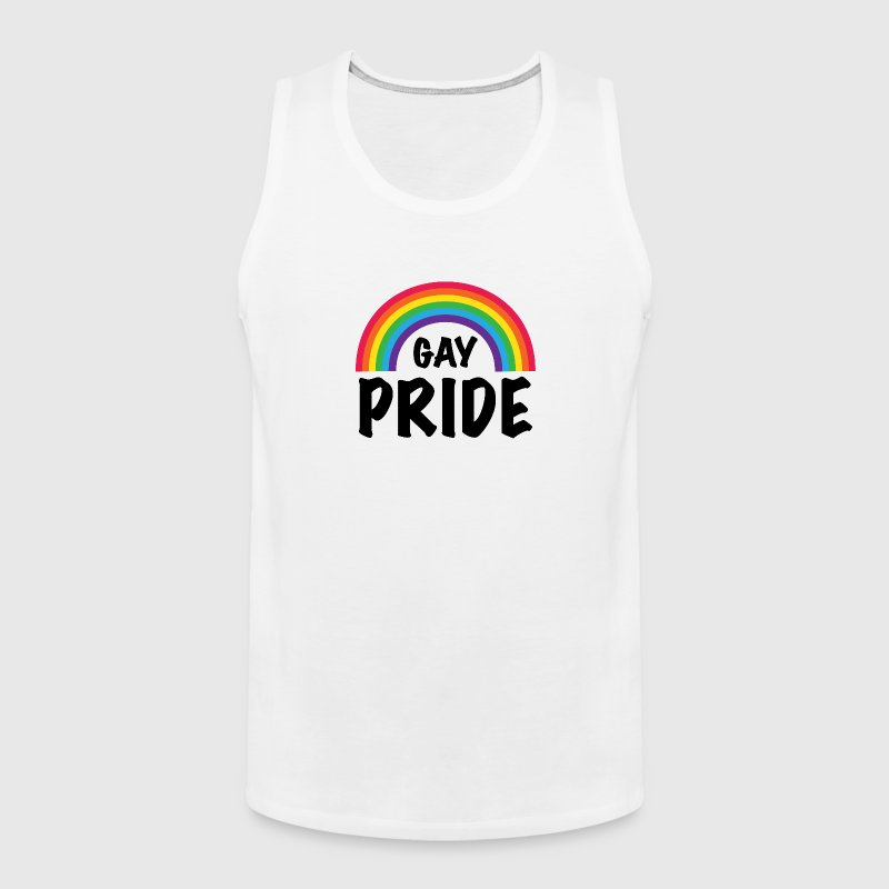 Gay Pride LGBT Rainbow - Men's Premium Tank