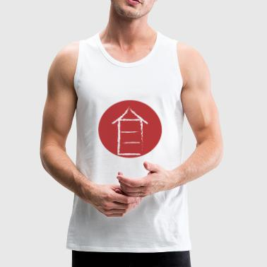 japanese house - Men's Premium Tank