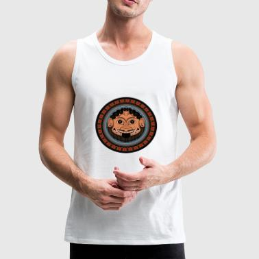 Ancient Greece Medusa Classical art from Ancient Greece - Men's Premium Tank