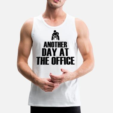 Office Another Day at the office - Men's Premium Tank