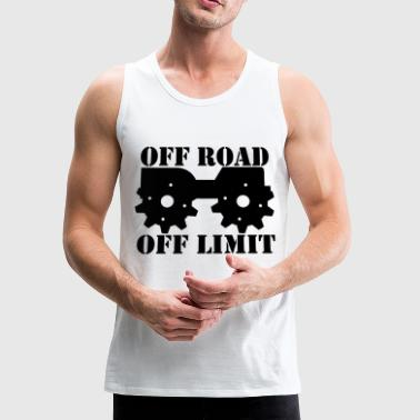 Off Road Off Limit - Men's Premium Tank