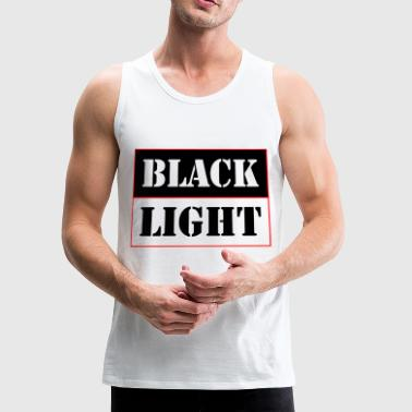 Black light red - Men's Premium Tank