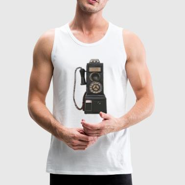 pay phone2 - Men's Premium Tank