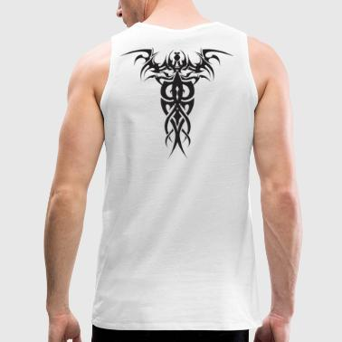 Tribal T - Graphic on Back - Men's Premium Tank