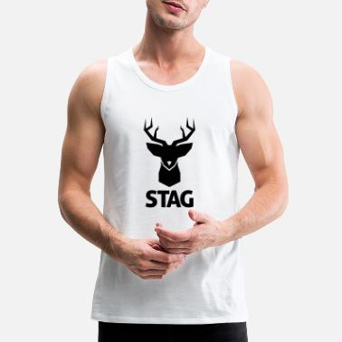 Stag stag - Men's Premium Tank Top