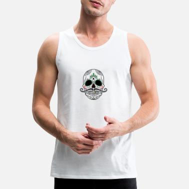 Day Of The Dead day of the dead 2177235 960 720 - Men's Premium Tank