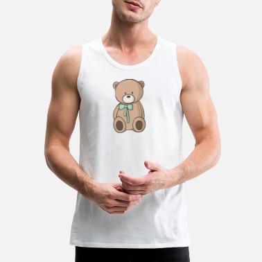 Shop Teddy Bear Tank Tops Online Spreadshirt