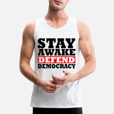 Democracy Democracy - Men's Premium Tank Top