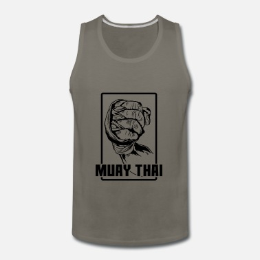 Thailand Muay Thai Fist - Men's Premium Tank Top
