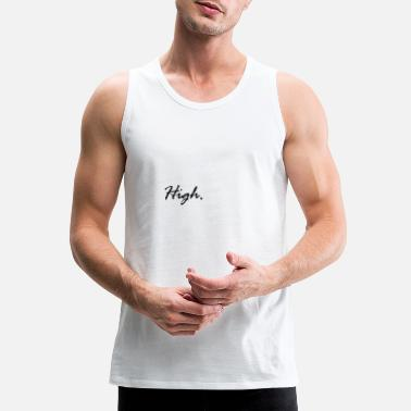 Cocaine High LSD Drugs Weed Lean Molly Festival Xanax Gift - Men's Premium Tank