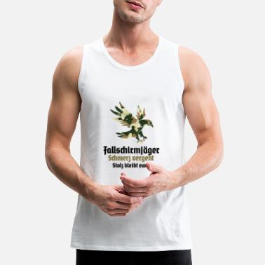 Training Course paratroopers jumper training course promotion - Men's Premium Tank Top