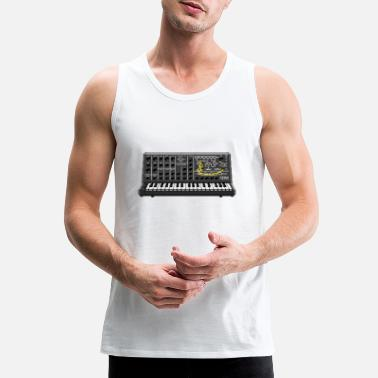 Ms. Twenty Pixel Synth #TTNM - Men's Premium Tank Top