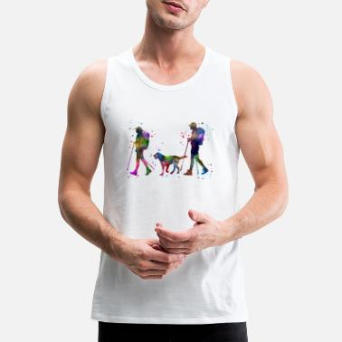 Couples Traveling as a couple, couple, couple traveling - Men's Premium Tank Top